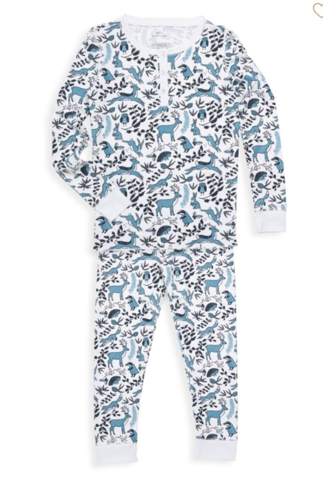 Roberta Roller Rabbit Winterland Pj Set-Kids - Main Image
