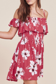 Jack by BB Dakota WINTERS FLORAL DRESS - Product Mini Image