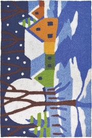 Jelly Bean Rugs Winters Night Rug - Product Mini Image