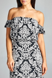 WinWin Off Shoulder Maxi - Back cropped