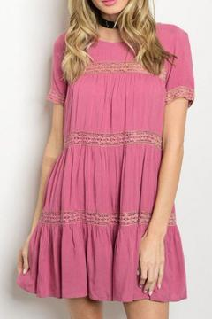 Shoptiques Product: Ruffled Peasant Dress