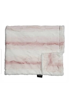Winx+Blinx Crushed Ombre Blush Mini Minky Blanket (13 X 12.5 Inches)for Newborn Baby Boys Girls Winter Swaddle - Product List Image