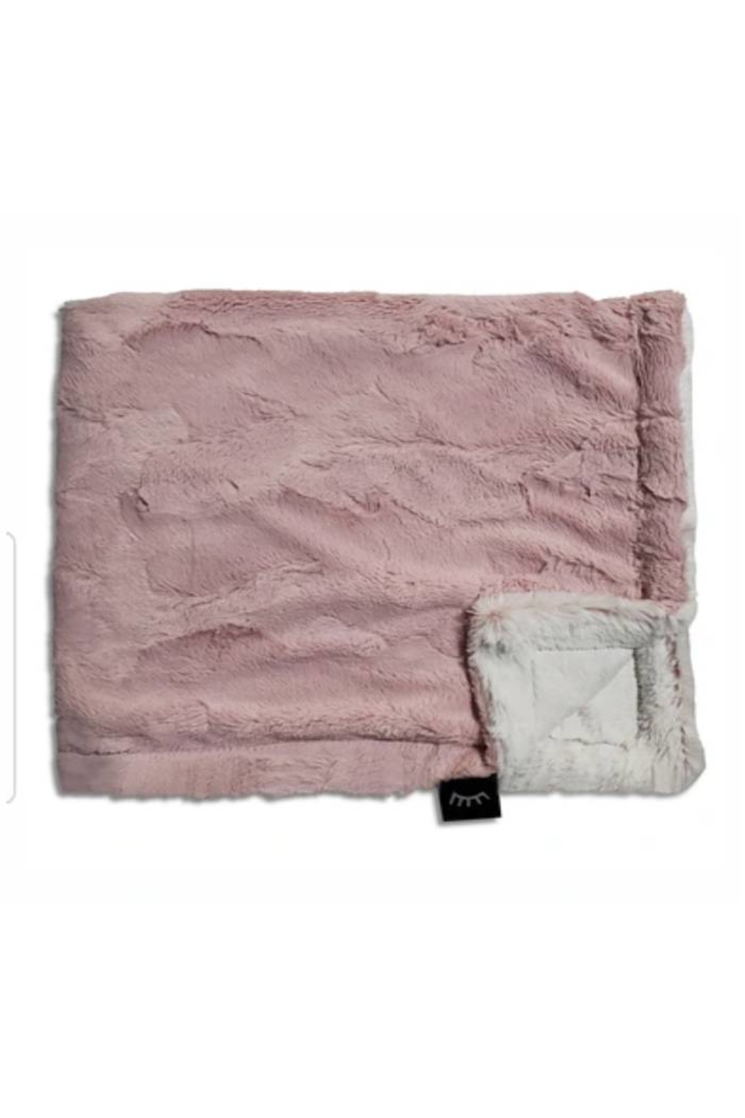 Winx+Blinx Rosewood Frost Mini Minky Blanket (13 X 12.5 Inches)for Newborn Baby Boys Girls Winter Swaddle - Main Image