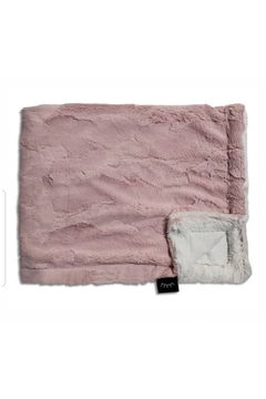Winx+Blinx Rosewood Frost Minky Blanket (34 X 29 Inches)for Newborn Baby Boys Girls Winter Swaddle - Product List Image
