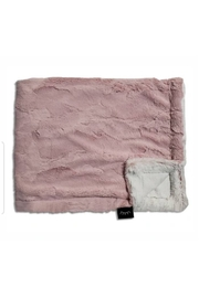 Winx+Blinx Rosewood Frost Minky Blanket (34 X 29 Inches)for Newborn Baby Boys Girls Winter Swaddle - Front cropped