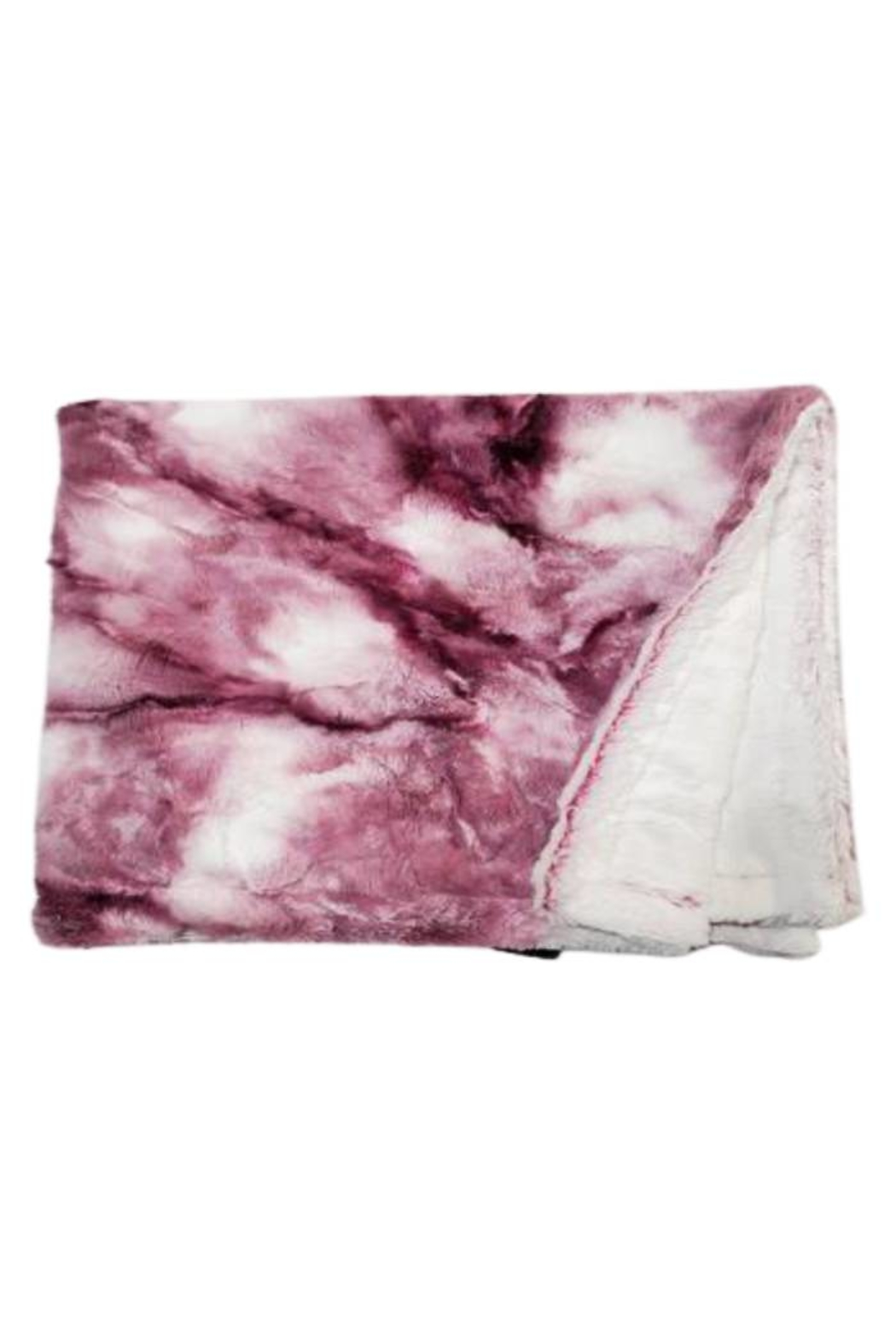 Winx+Blinx Sorbet Raspberry Minky Blankets (34 X 29 Inches)for Newborn Baby Boys Girls Winter Swaddle - Front Cropped Image
