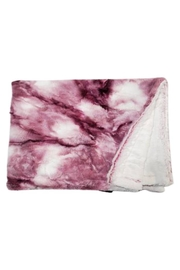 Winx+Blinx Sorbet Raspberry Minky Blankets (34 X 29 Inches)for Newborn Baby Boys Girls Winter Swaddle - Front cropped