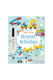 Usborne Wipe-Clean Airport Activities - Product Mini Image