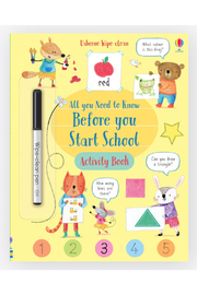 Usborne Wipe-Clean All You Need To Know Before You Start School - Product Mini Image