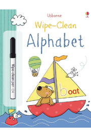 Usborne Wipe Clean Alphabet - Front cropped