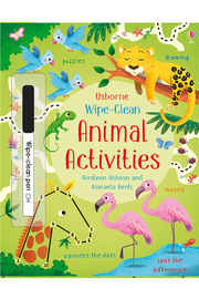 Usborne Wipe-Clean Animal Activities - Product Mini Image