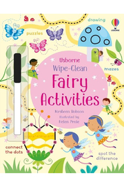 Usborne Wipe-Clean Fairy Activities - Front cropped