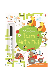 Usborne Wipe Clean Farm Activities - Product Mini Image