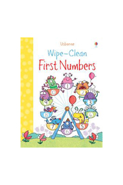 Usborne Wipe-Clean First Numbers - Product Mini Image