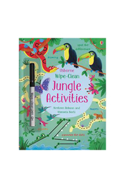 Usborne Wipe-Clean Jungle Activities - Product Mini Image