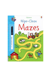 Usborne Wipe Clean Mazes - Product Mini Image