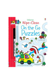 Usborne Wipe-Clean On The Go Puzzles - Product Mini Image
