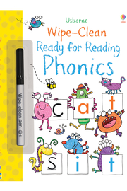Usborne Wipe-Clean Ready For Reading Phonics - Product Mini Image