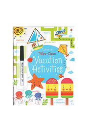 Usborne Wipe Clean Vacation Activities - Product Mini Image