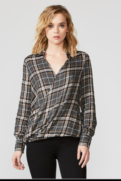 Bailey 44 Wipe Out Plaid Top - Product List Image