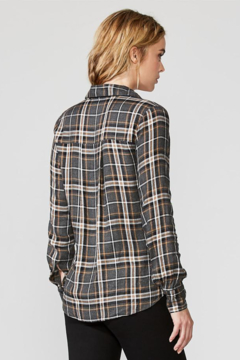 Bailey 44 Wipe Out Plaid Top - Alternate List Image