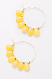 Nakamol  Wire Beaded Earring - Front cropped