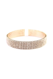 Riah Fashion Wire Cuff Bracelet - Product Mini Image