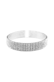 Riah Fashion Wire Cuff Bracelet - Front cropped