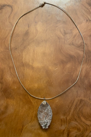 Tesoro  Wire Wrapped Quartz Pendant Necklace - Product Mini Image