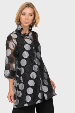 Shoptiques Product: Wired Collar Shirt-Jacket