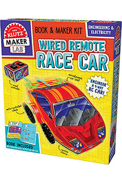 Klutz Wired Remote Race Car - Alternate List Image