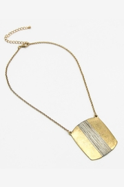 Embellish Wired Square Necklace - Product Mini Image