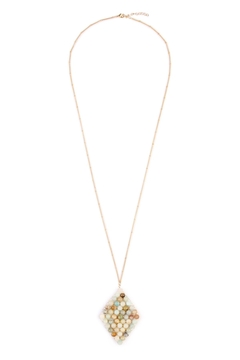 Shoptiques Product: Wired Stone Necklace