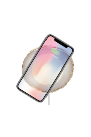 PhunkeeTree Wireless Charging Crystal Pads - Front cropped