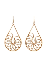 Madison Avenue Accessories Wirlwind Drop Earring - Product Mini Image