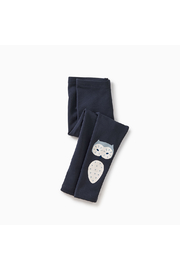 Tea Collection Wise Owl Cozy Leggings - Side cropped