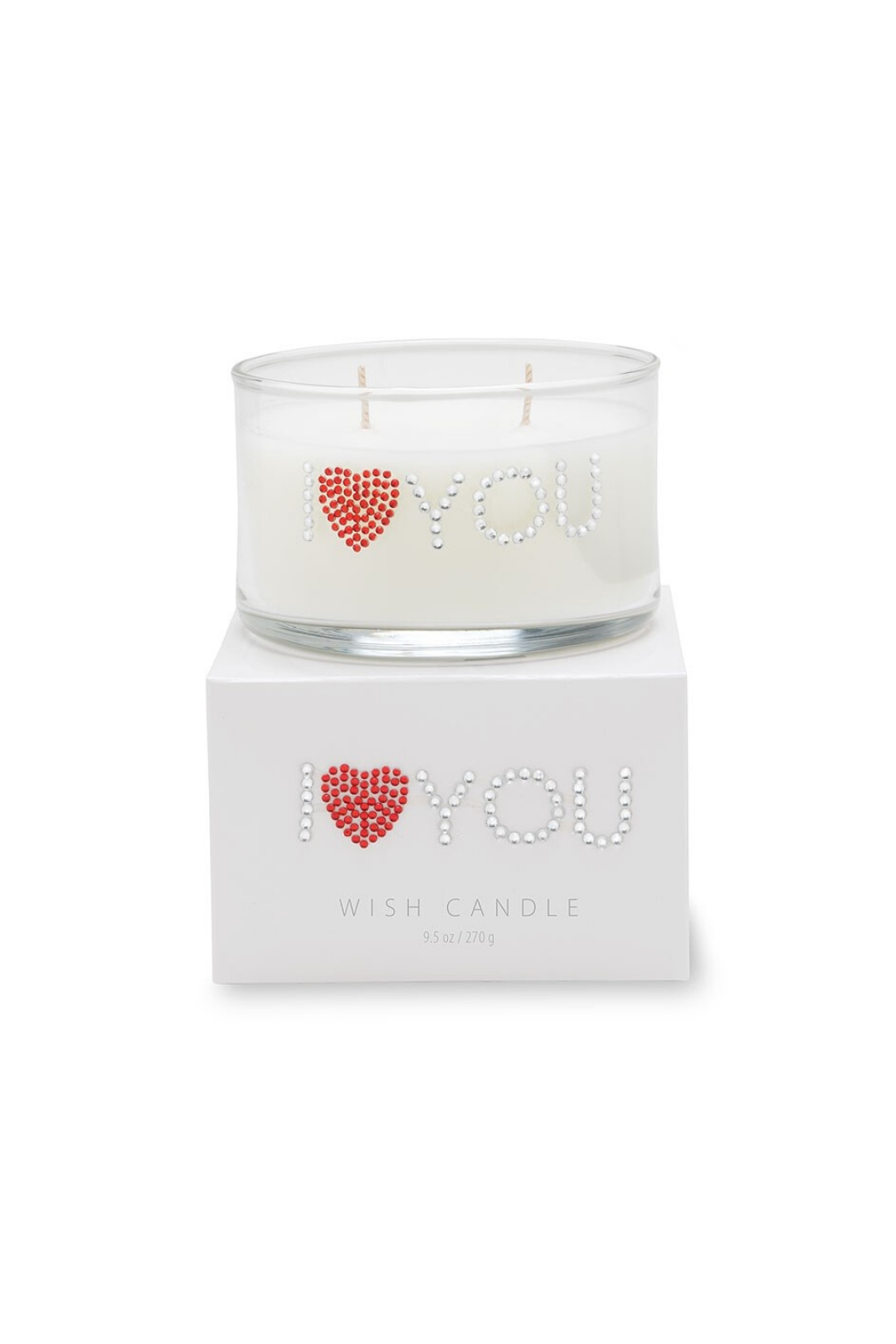 Primal Elements Wish Candle - I HEART YOU - Main Image