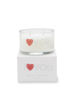 Primal Elements Wish Candle - I HEART YOU - Alternate List Image