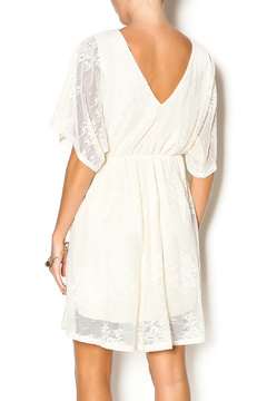 Wish Collection Cross-Front Lace Dress - Alternate List Image