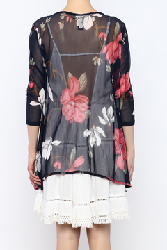 Wish Collection Sheer Floral Kimono - Alternate List Image