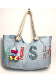 Wander Wish Tote - Front cropped