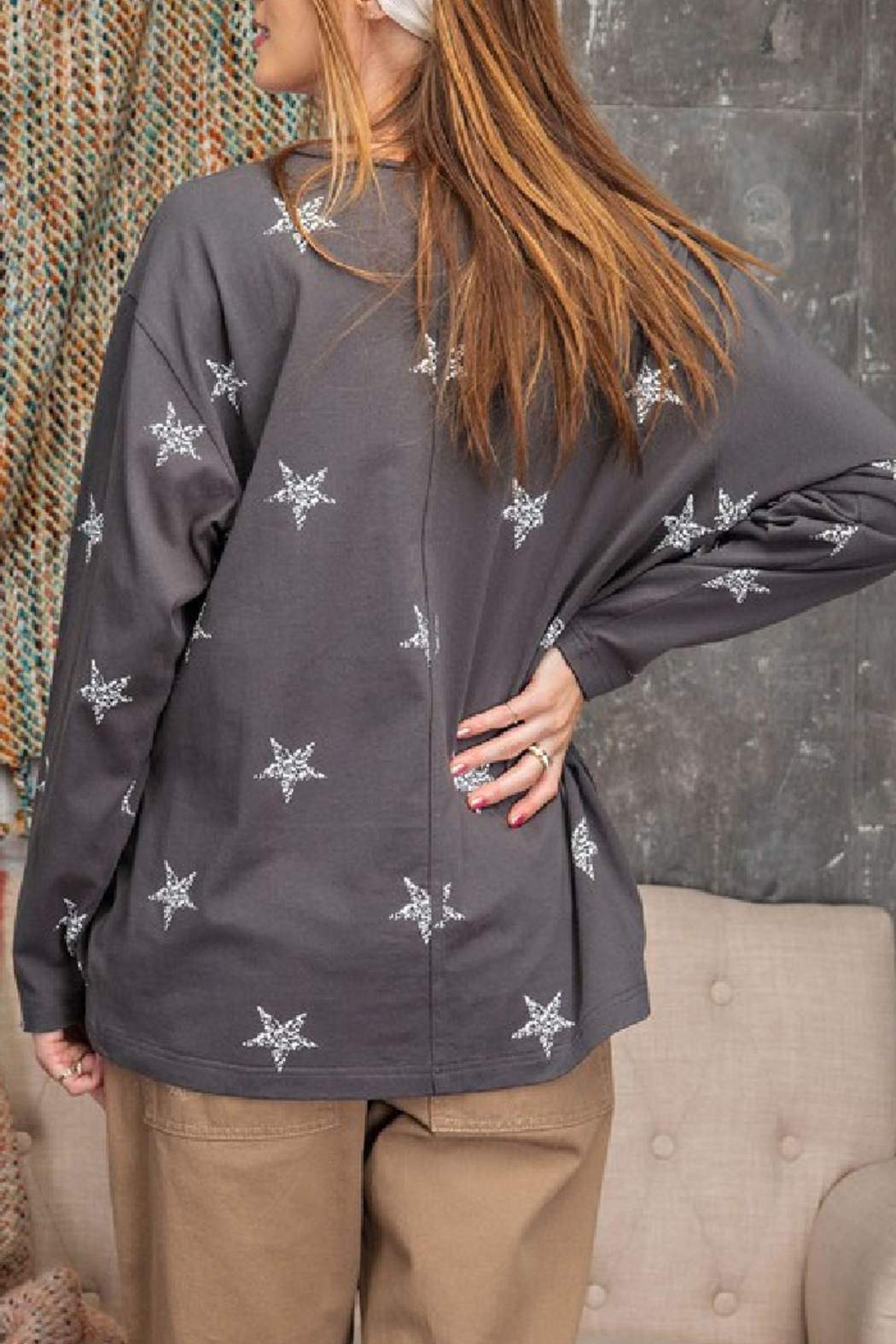 easel  Wish Upon a Star Top - Front Full Image