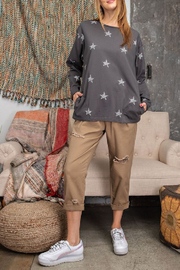 easel  Wish Upon a Star Top - Front cropped