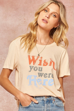 Promesa  Wish You Were Here Vintage T - Product List Image