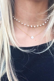 Lets Accessorize Wishes Pearl Necklace - Front full body