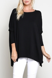 Wishlist 3/4 Sleeve Top - Front cropped