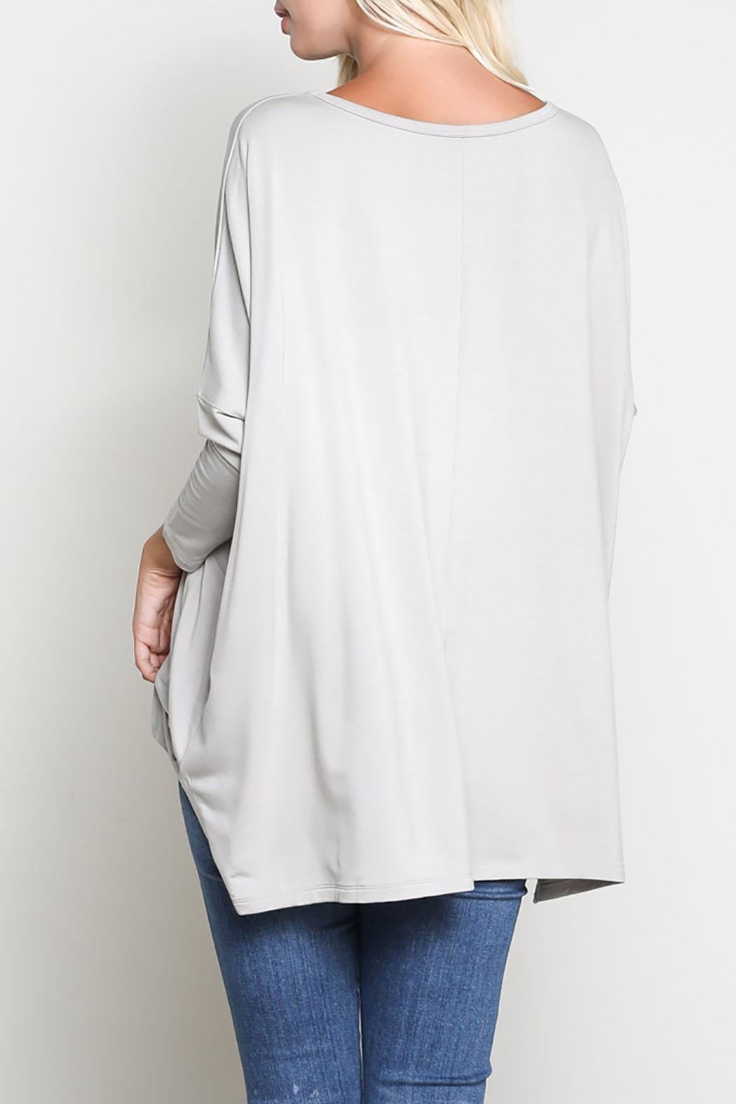 Wishlist 3/4 Sleeve Top - Side Cropped Image