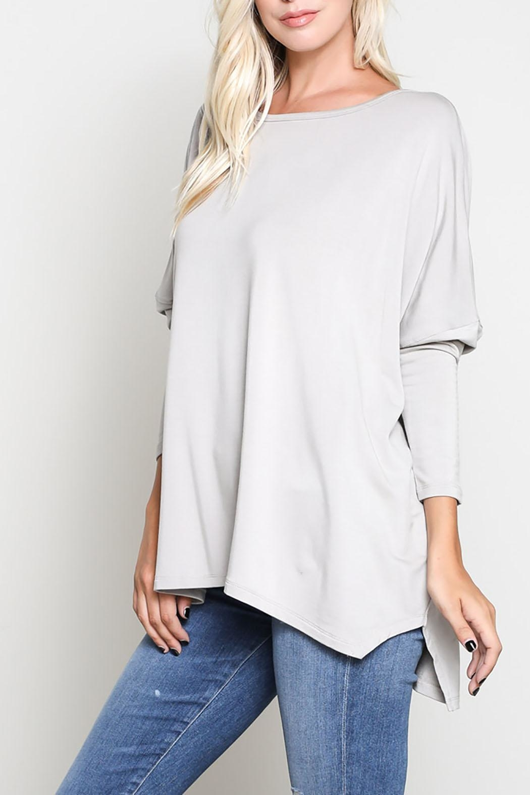 Wishlist 3/4 Sleeve Top - Front Full Image
