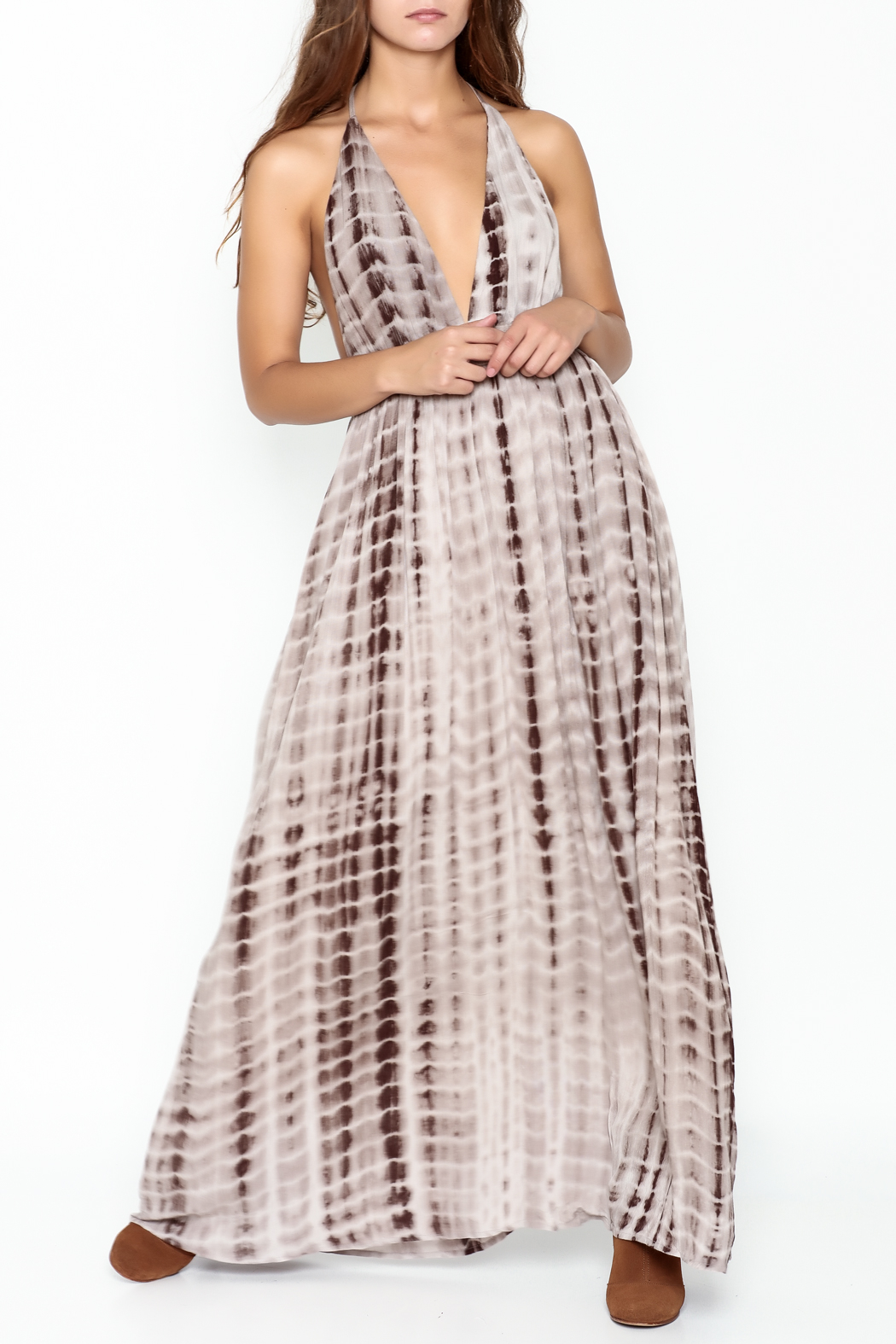 Wishlist Aria Maxi Dress - Front Cropped Image