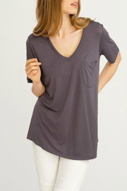 Wishlist Basic V-Neck Tee - Front cropped